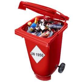 Pojemnik mobilny na odpady...