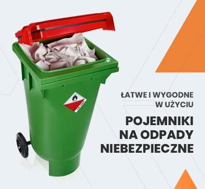 Pojemniki na odpady niebezpieczne